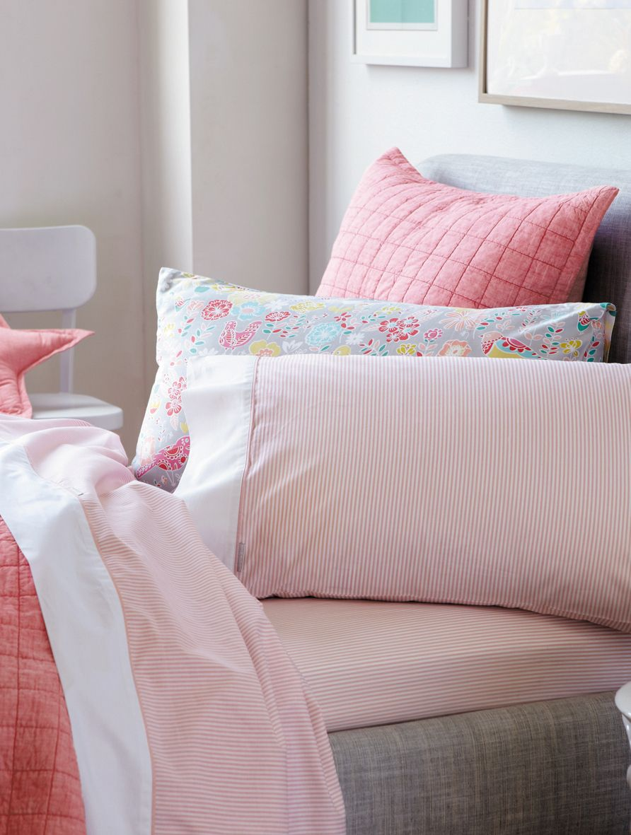 Emmerson bed linen in marshmellow