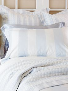 Smythson Barely Blue bedding range
