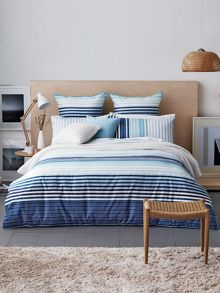 Hoppen bedding range in lagoon