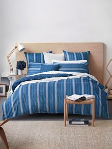 Bramwell bedding range in Indigo