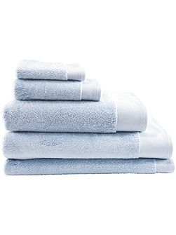 Luxury retreat chambray hand towel