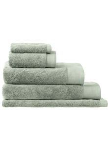 Sheridan Luxury Retreat Sage bath towel range