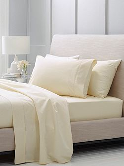 Hotel-Weight Luxury Chalk king fitted sheet
