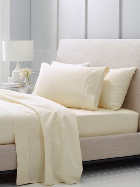 Sheridan Hotel-Weight Luxury Chalk double flat sheet