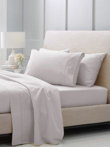 Hotel-Weight Luxury Dove king fitted sheet