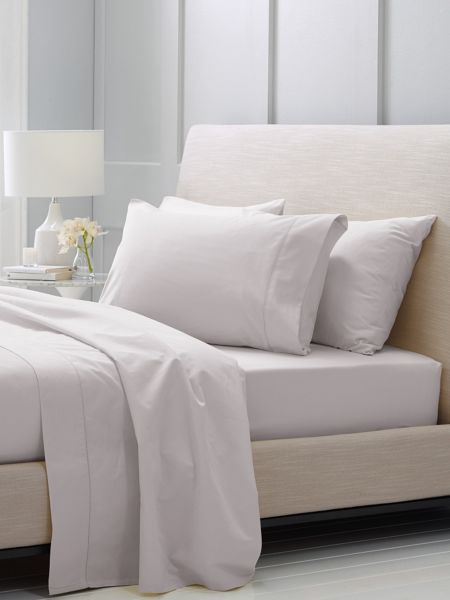 Sheridan Hotel-Weight Luxury Dove double fitted sheet