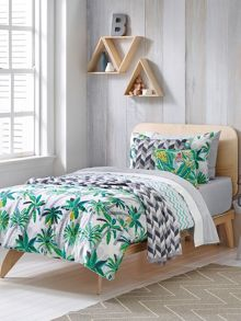 Sheridan Holidaze Forest single duvet cover set