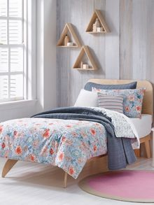 Sheridan Posie Chambray single duvet cover set