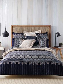 Karajini Midnight bed linen range