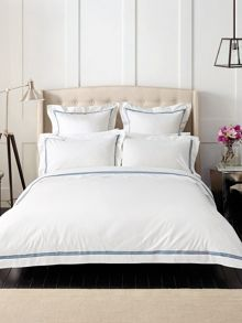 Palais French Blue oxford pillowcase