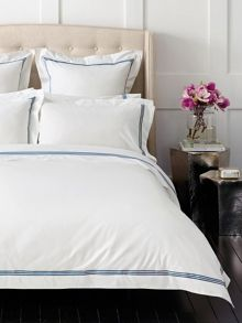 Palais French Blue bed linen range