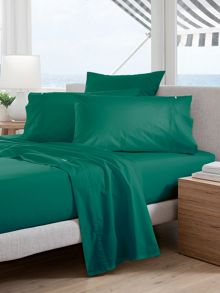 Classic Percale Forest standard pillowcase pair