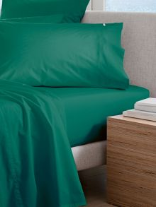 Classic Percale Forest bed linen range