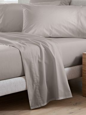 Sheridan Classic Percale Dove bed linen range