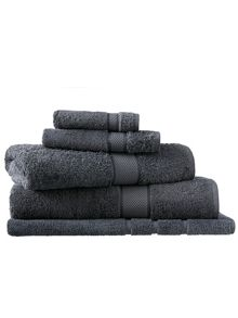 Sheridan Egyptian luxury graphite towel range