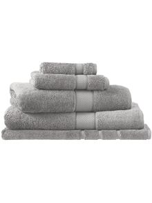 Sheridan Egyptian luxury silver towel range