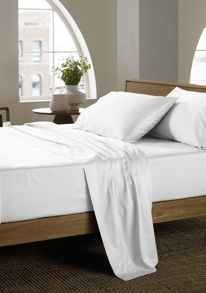 Sheridan 400 thread count sheeting in white