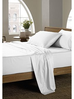 400 thread count snow super king fitted sheet