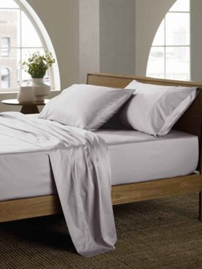 Sheridan 400 soft sateen dove bed linen