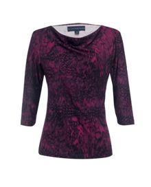 3/4 sleeve cowel top
