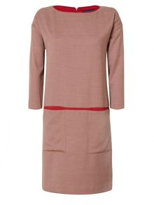 Rena round neck dress