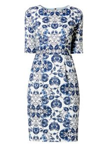 Helen McAlinden Jewel Neck Dress