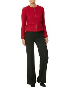 Helen McAlinden Boucle jewel collar jacket