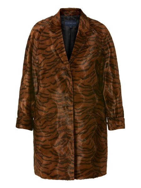 Helen McAlinden Animal print coat
