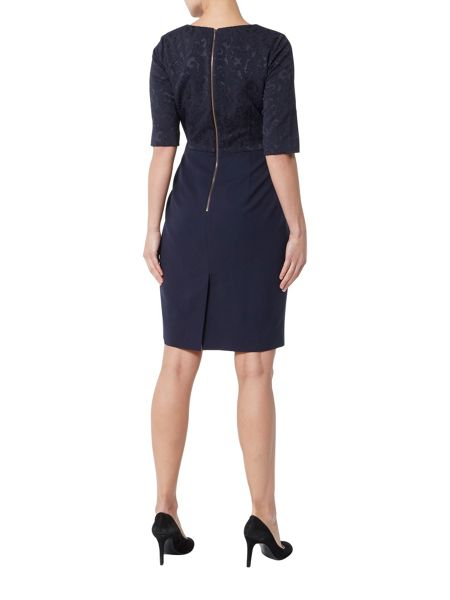 Helen McAlinden Karen round neck dress