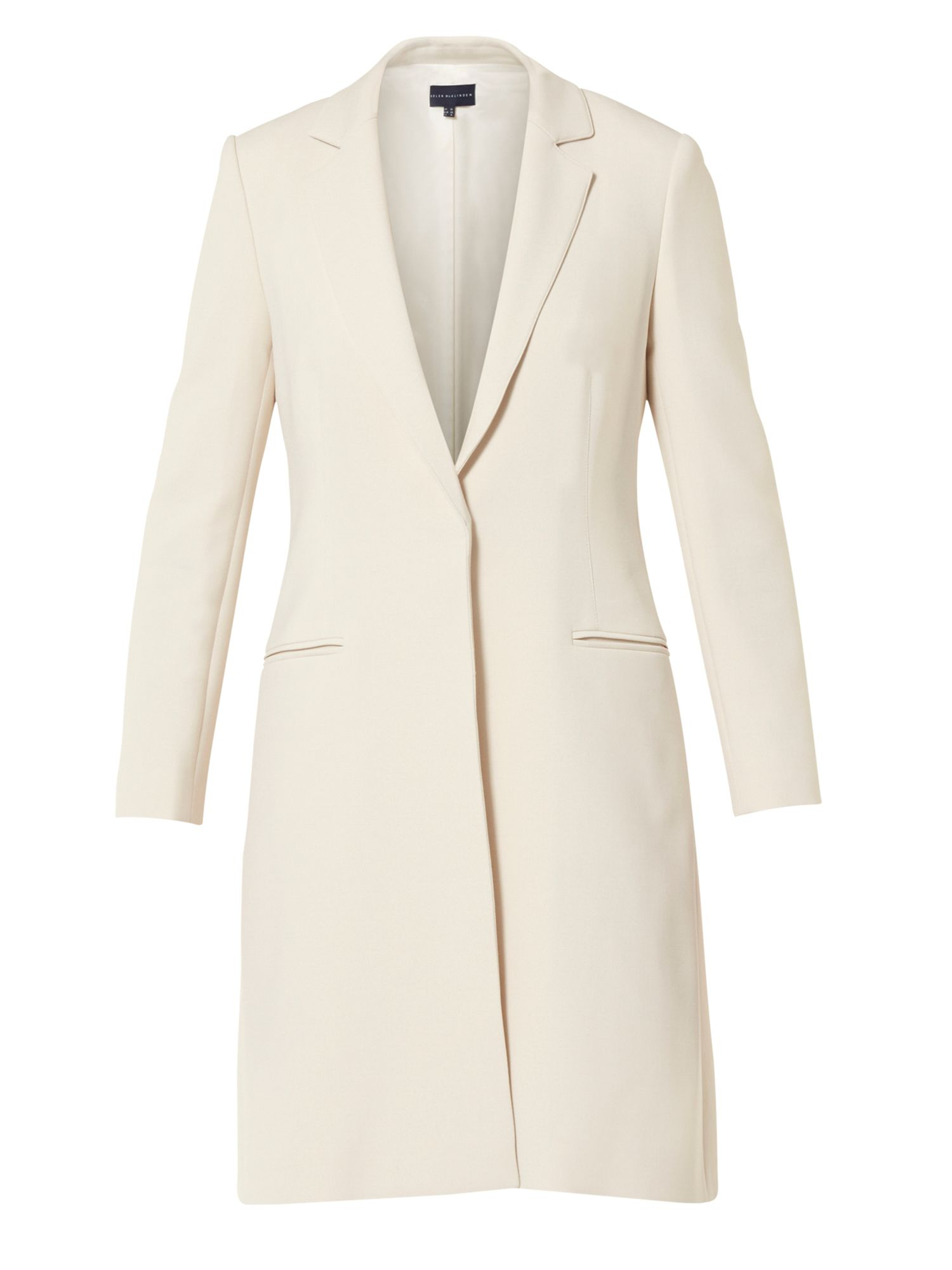 Helen McAlinden Lorraine Long Jacket, White
