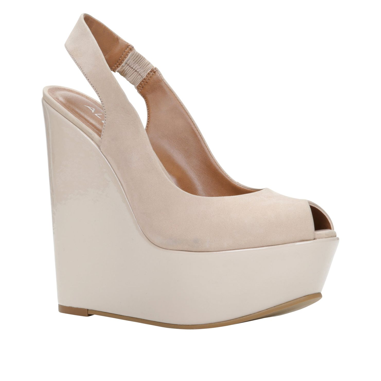 Nydorensen wedge peep toe sandals