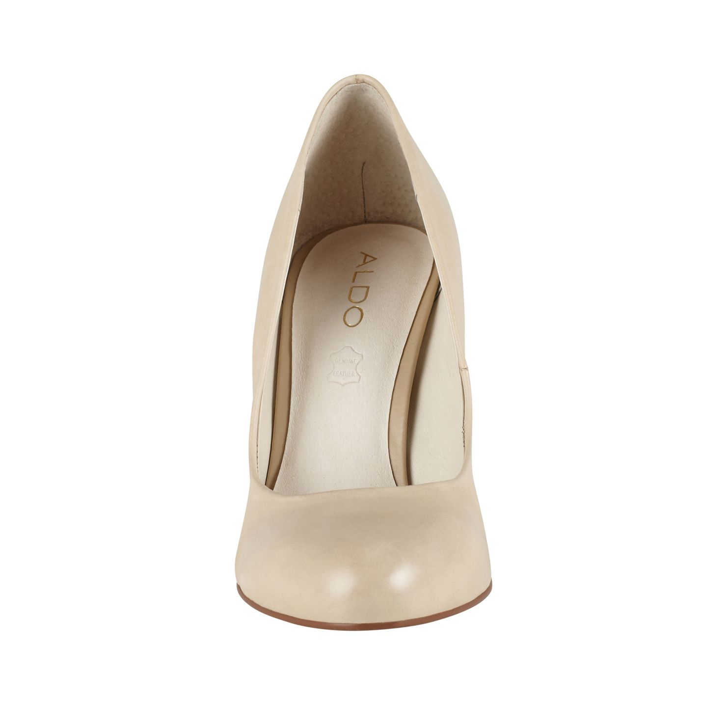 Coilian almond toe court shoes