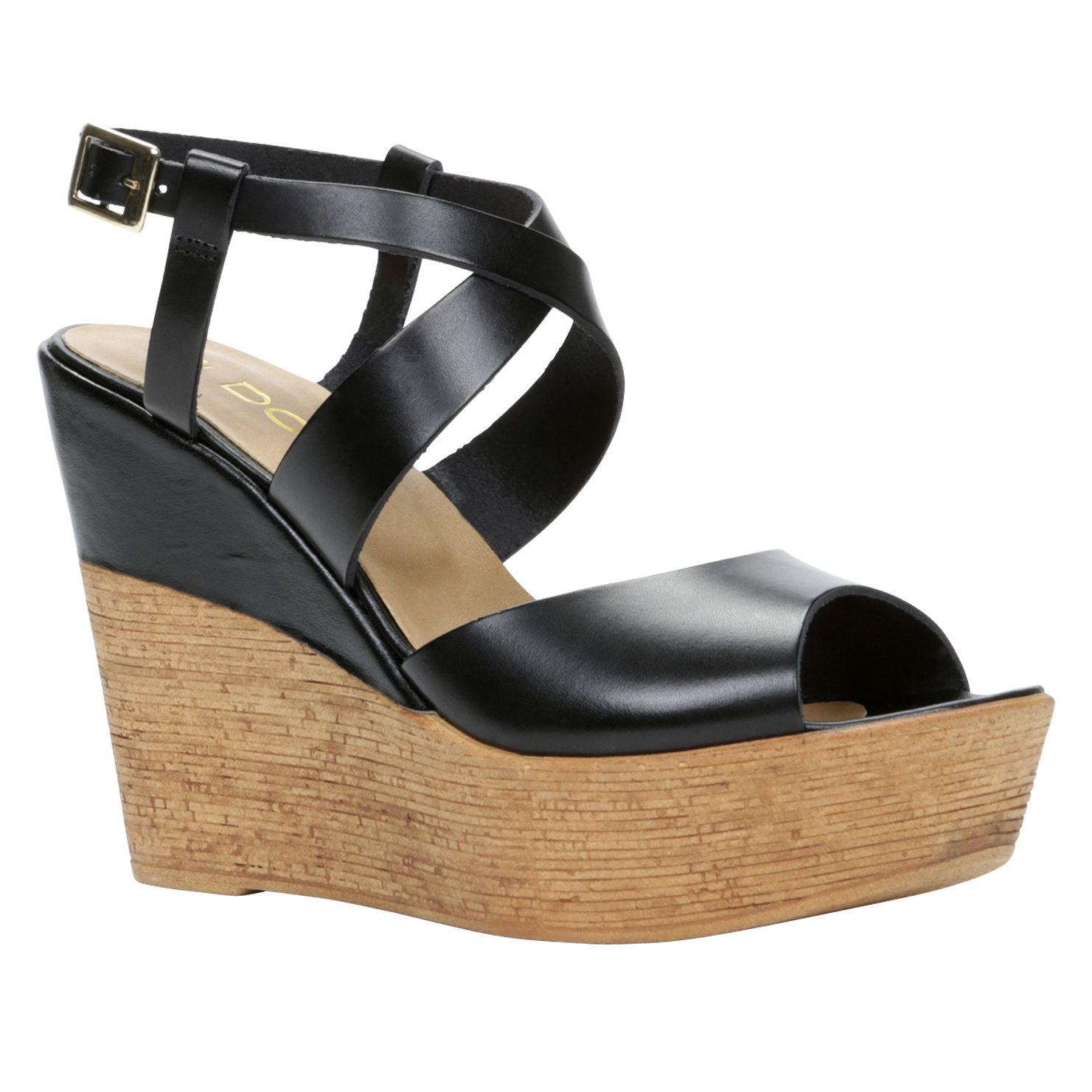 Dradolle ankle strap wedge sandals