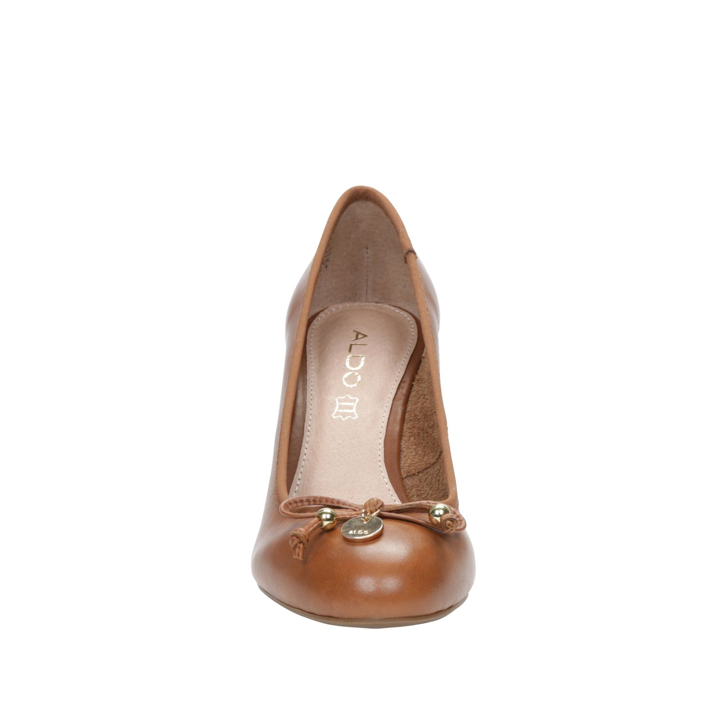 Agrarwen round toe wedge ballerina shoes