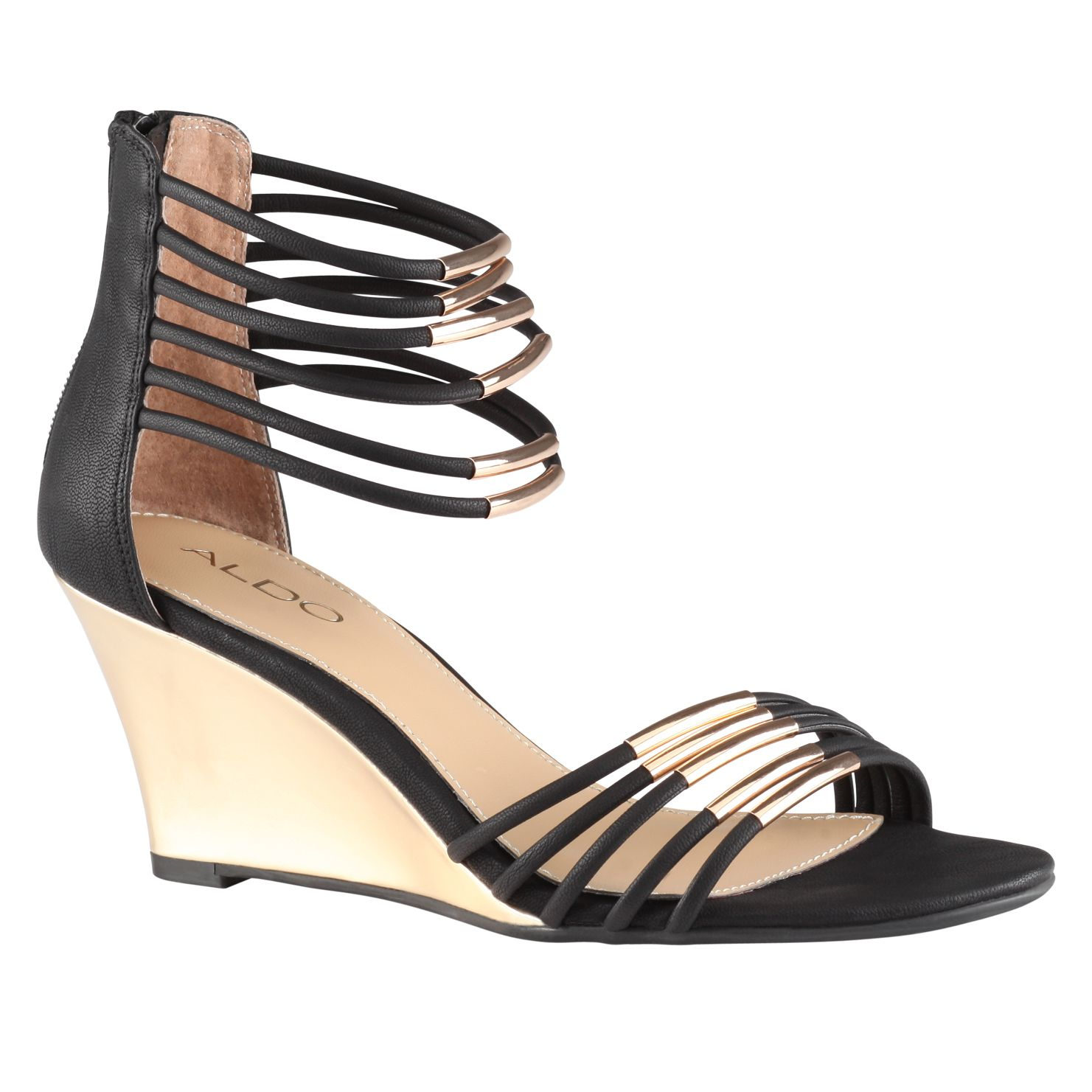 Kealla wedge strap sandals