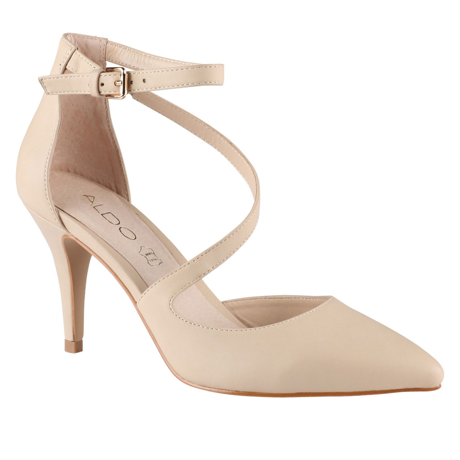 Ulenalle almond toe court shoes