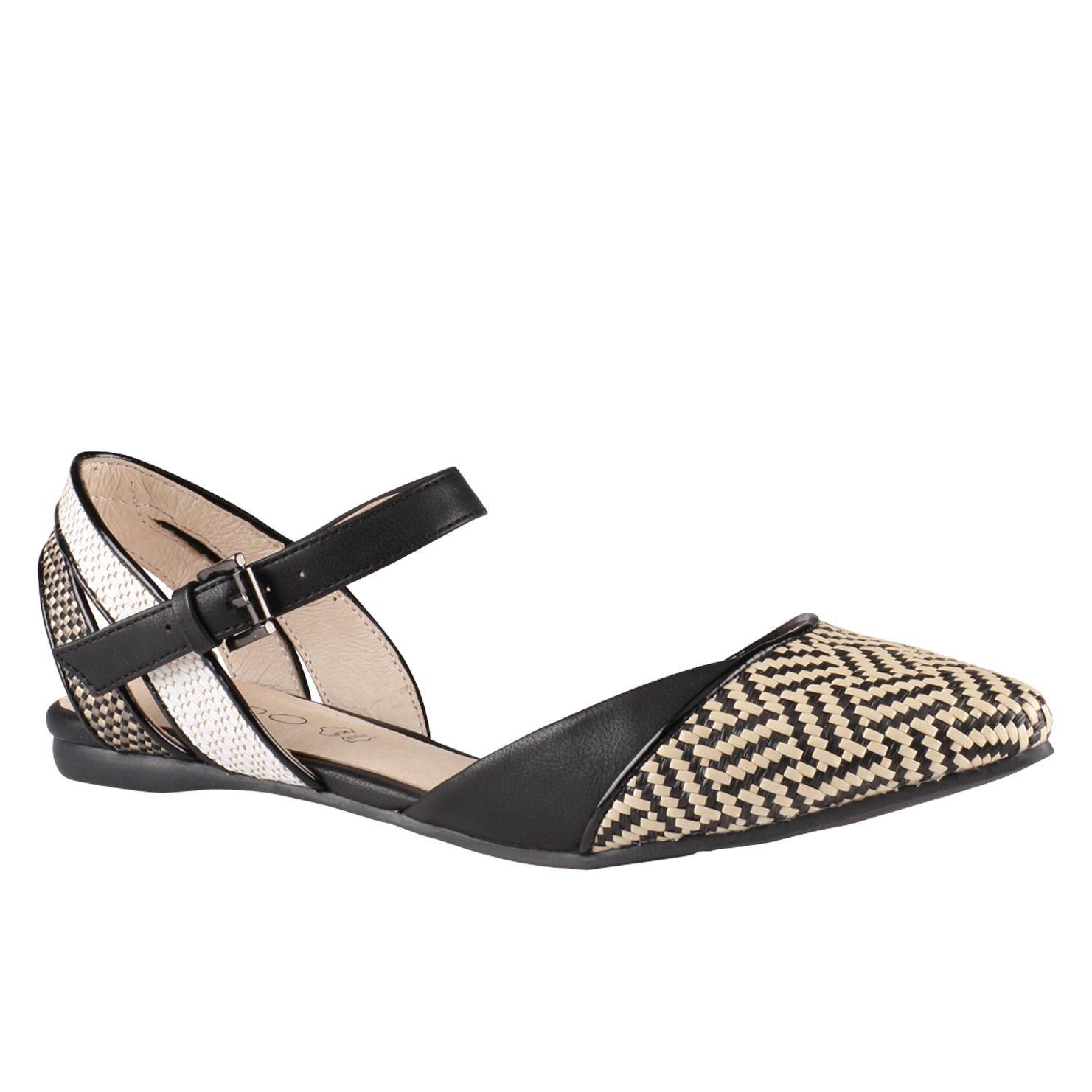 Primolano almond toe flat shoes