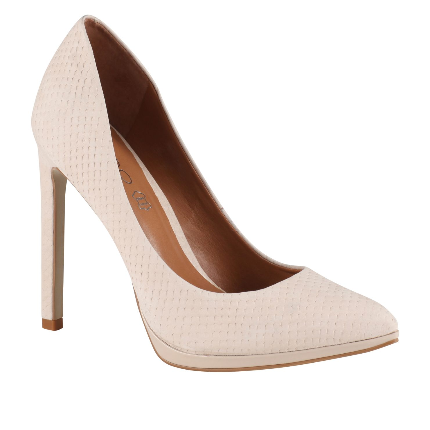Kristina pointed toe stilleto court shoes