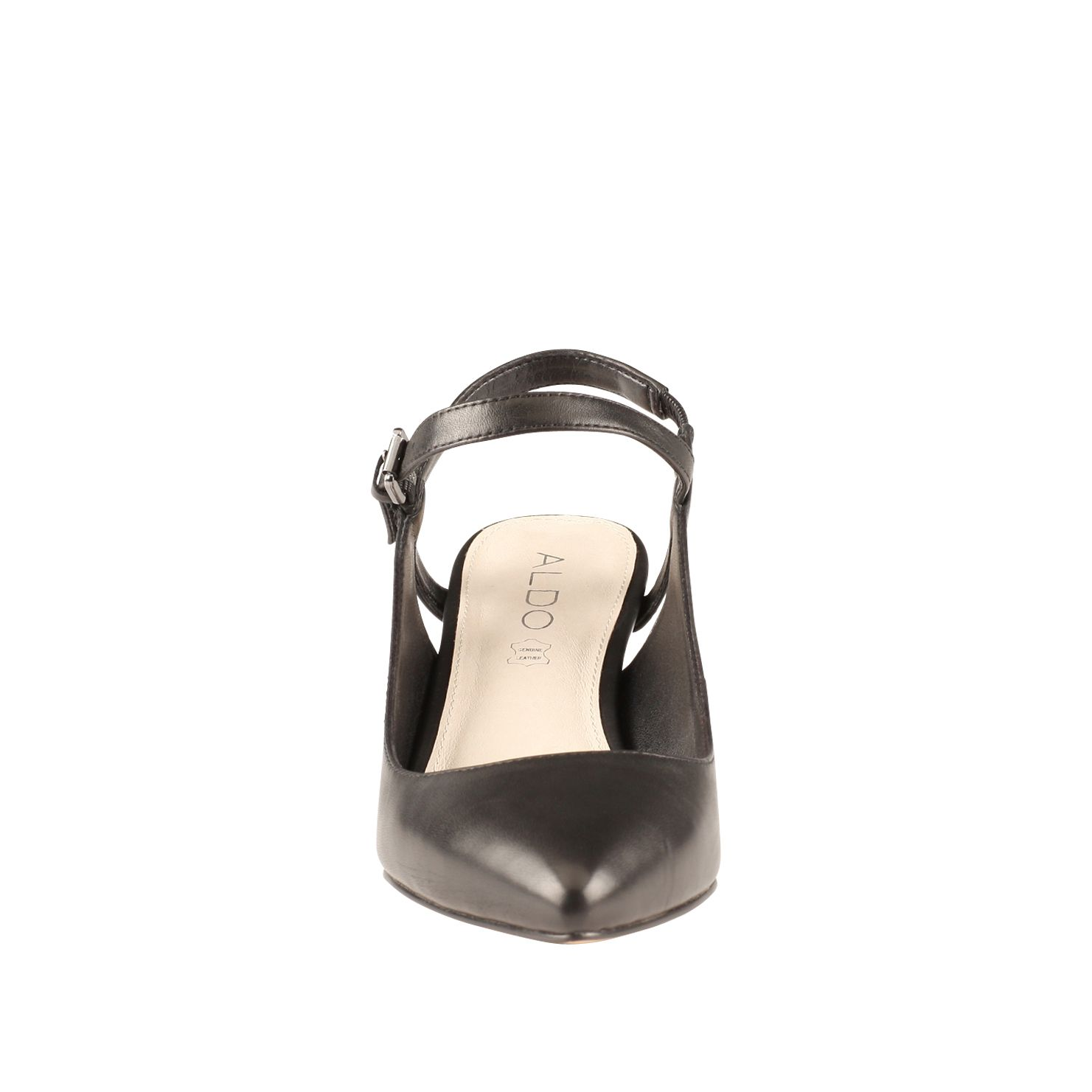 Marinasco almond toe court shoes