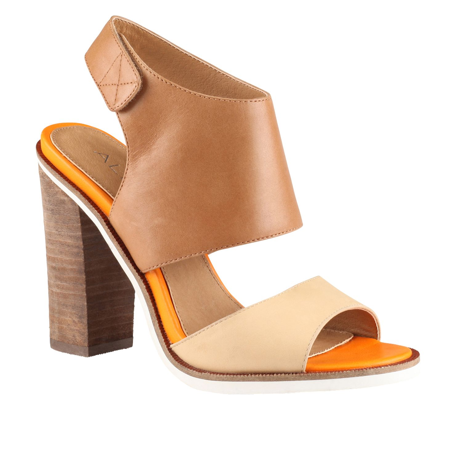 Eling cut out block heel sandals