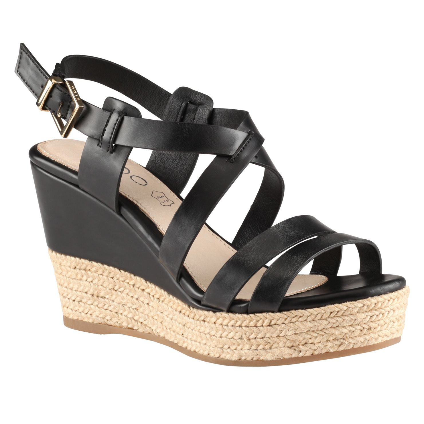 Frignani wedge strap sandals