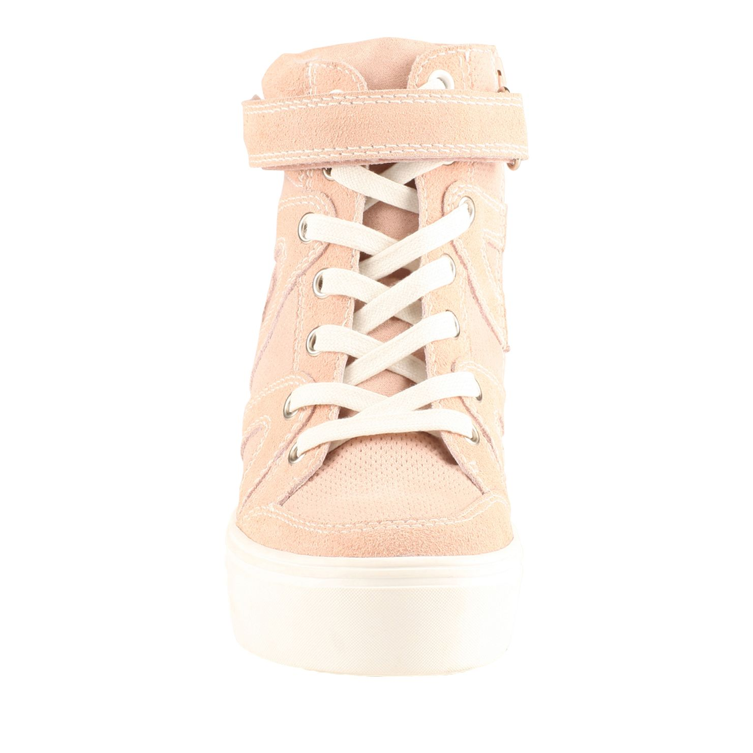 Patmore wedge lace up trainers