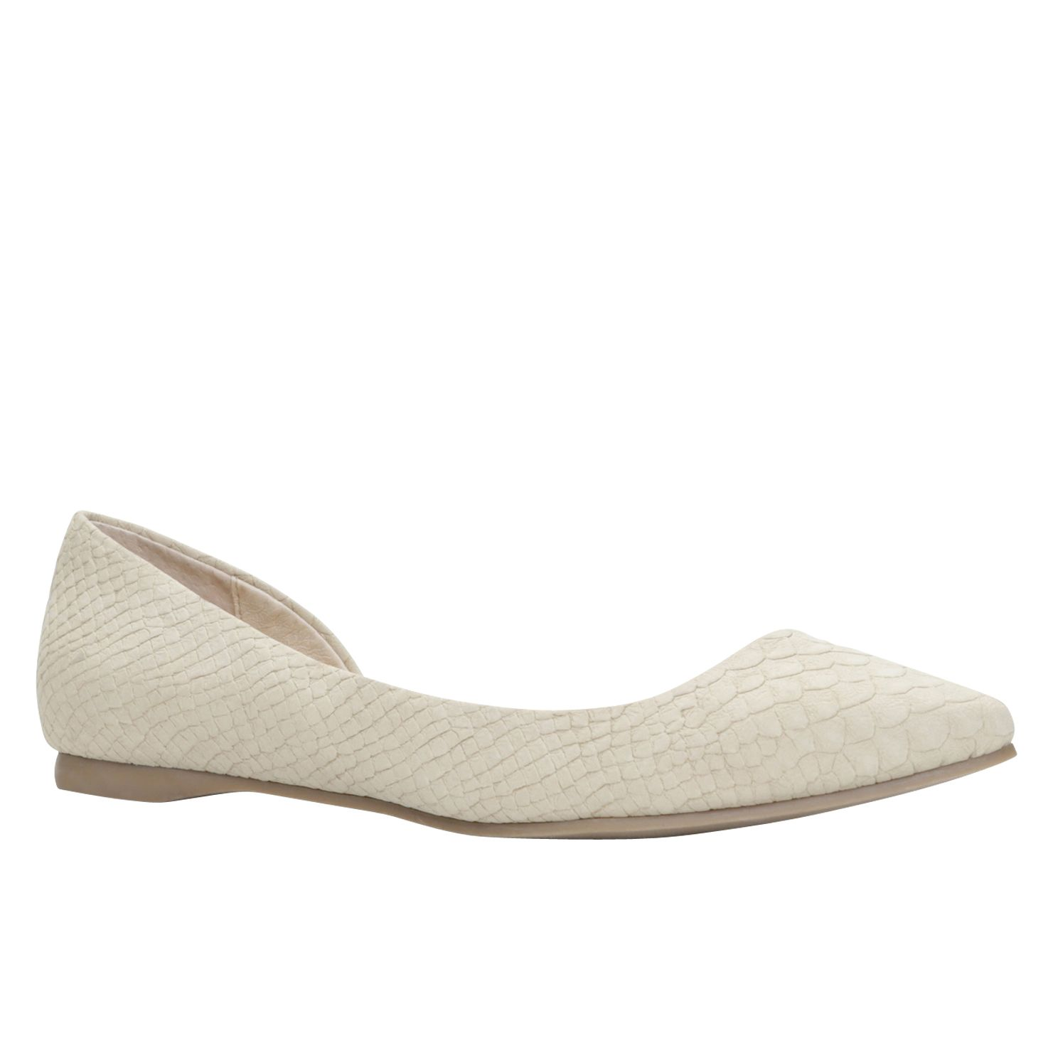 Naleri almond toe ballerina shoes