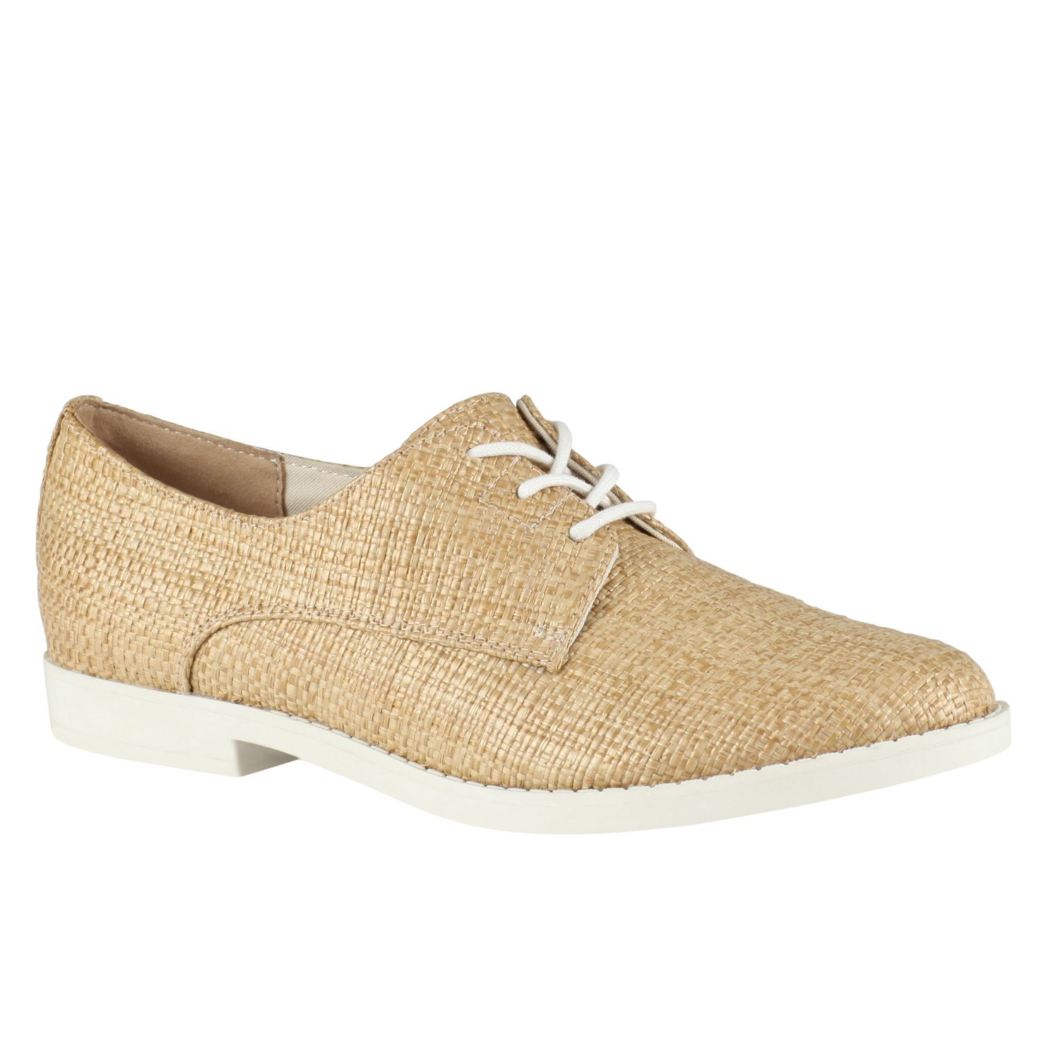 Paowen almond toe lace up shoes