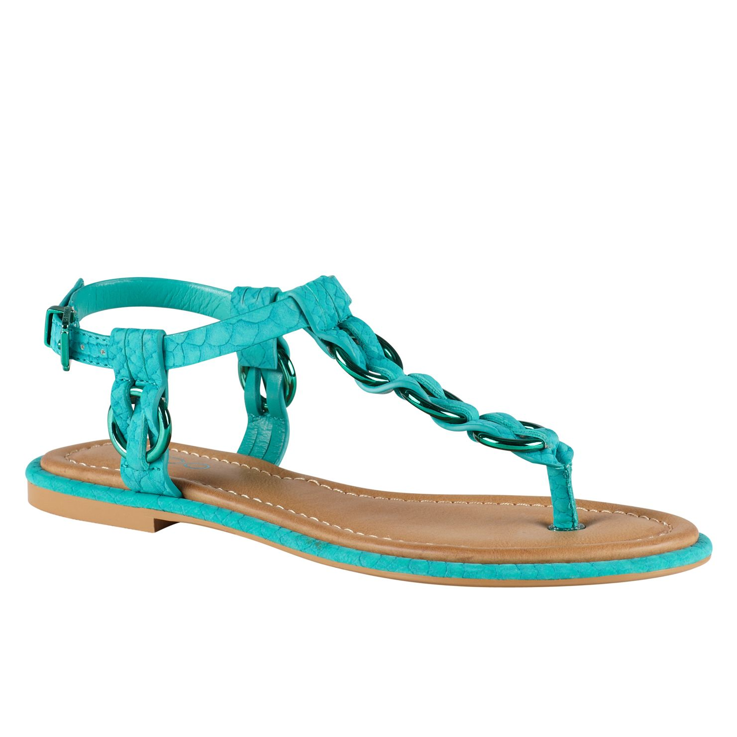 Kivitoo flat t-bar sandals