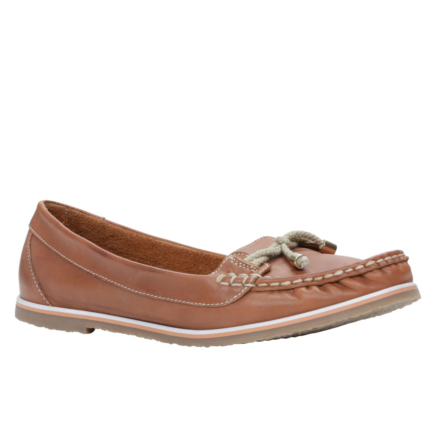 Freebaim round toe boat shoes