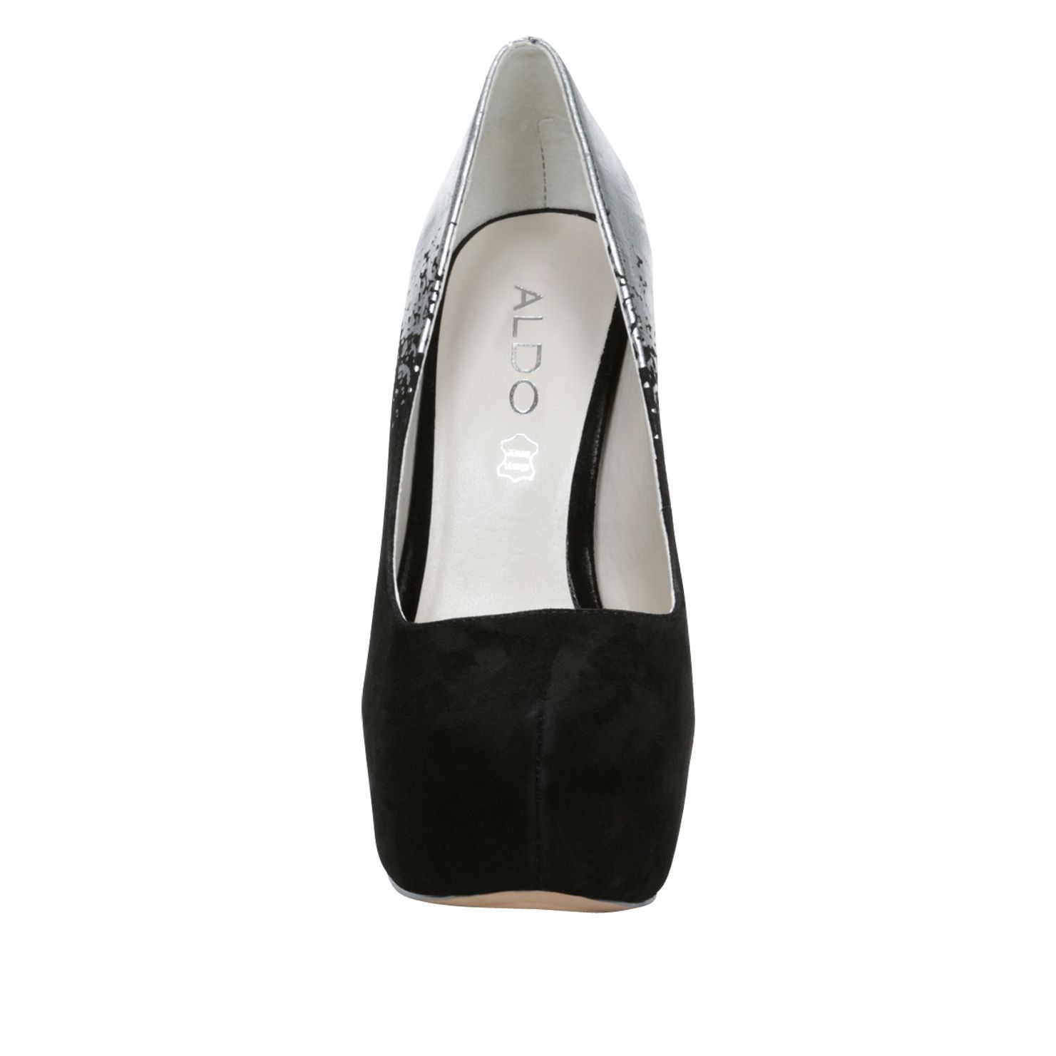 Caviel platform stilleto court shoes