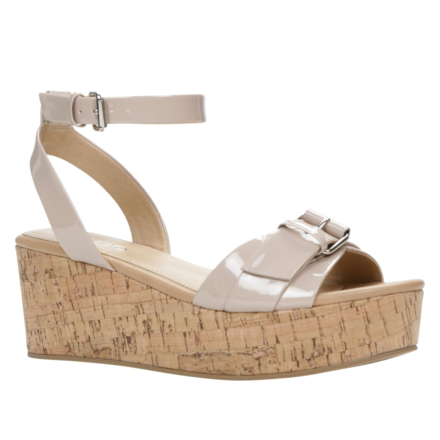 Waldrym wedge ankle strap sandals