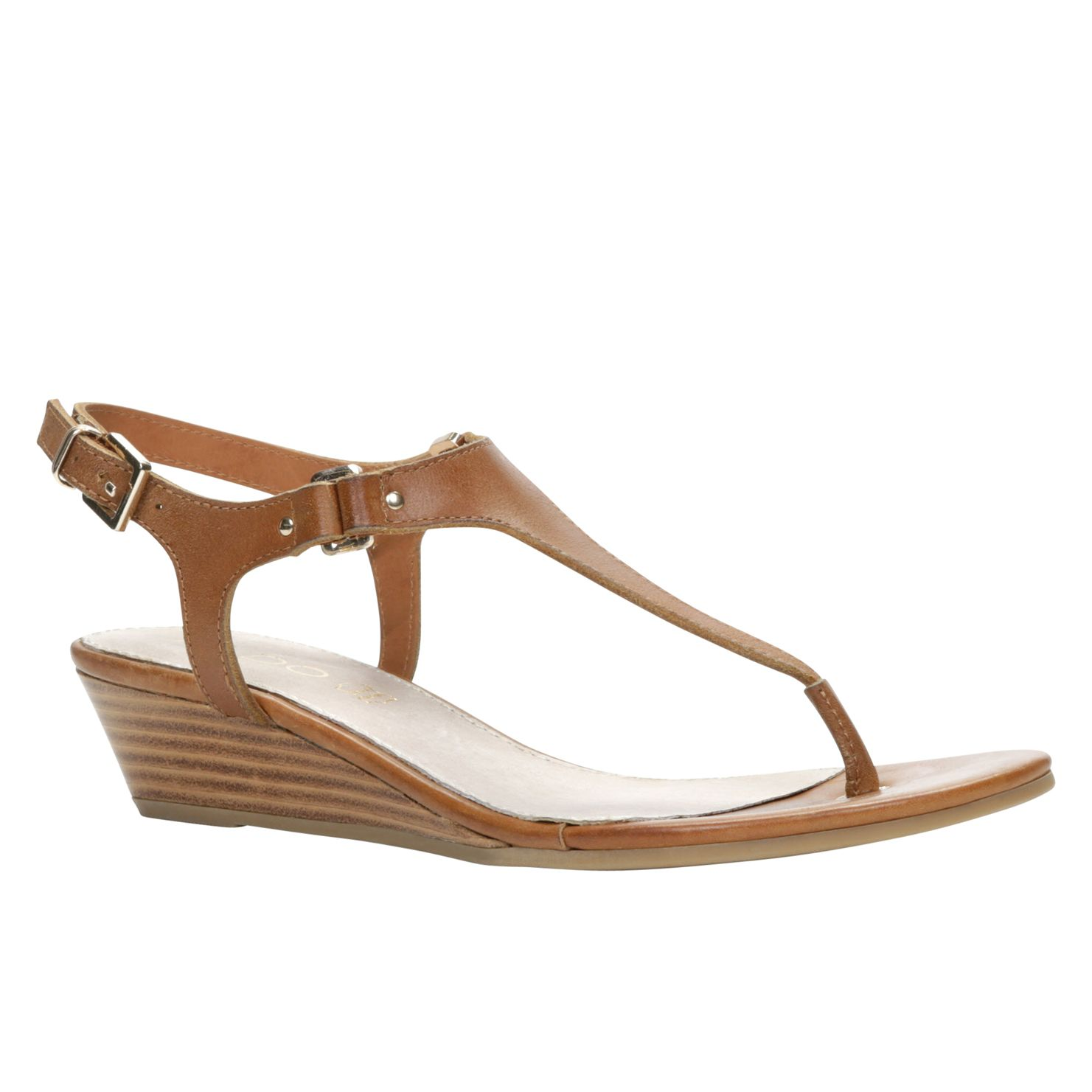 Eriradda t-strap wedge sandals
