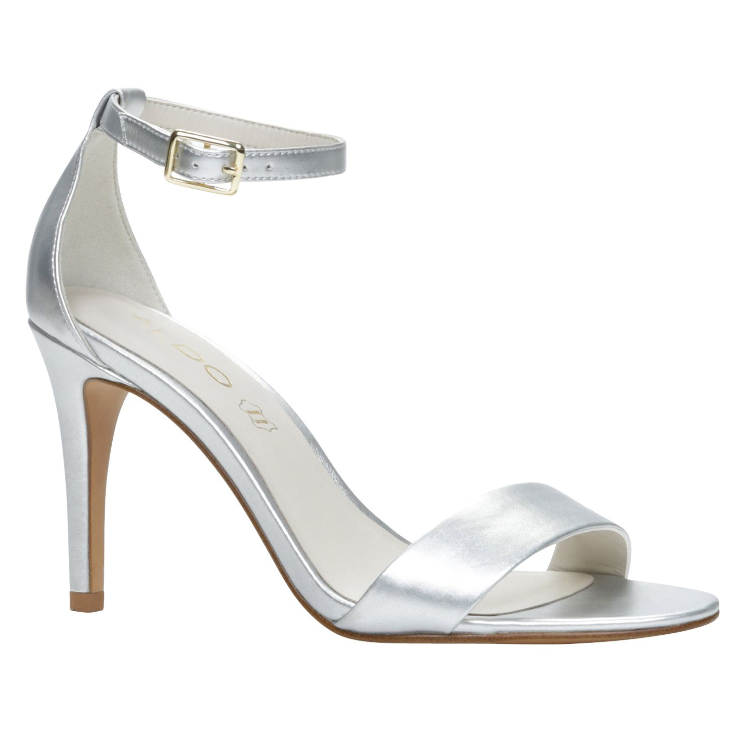 Ibenama ankle strap high heel sandals